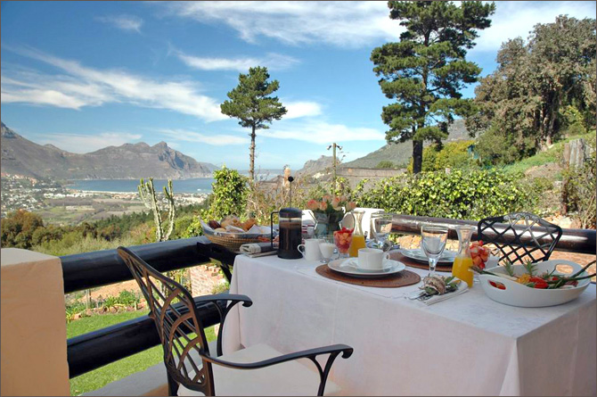 Dream House Guesthouse 4 star bed and breakfast accommodation situated in Hout Bay Valley, Cape Town - B&B Guesthouse Accommodation, Self catering accommodation hout bay
